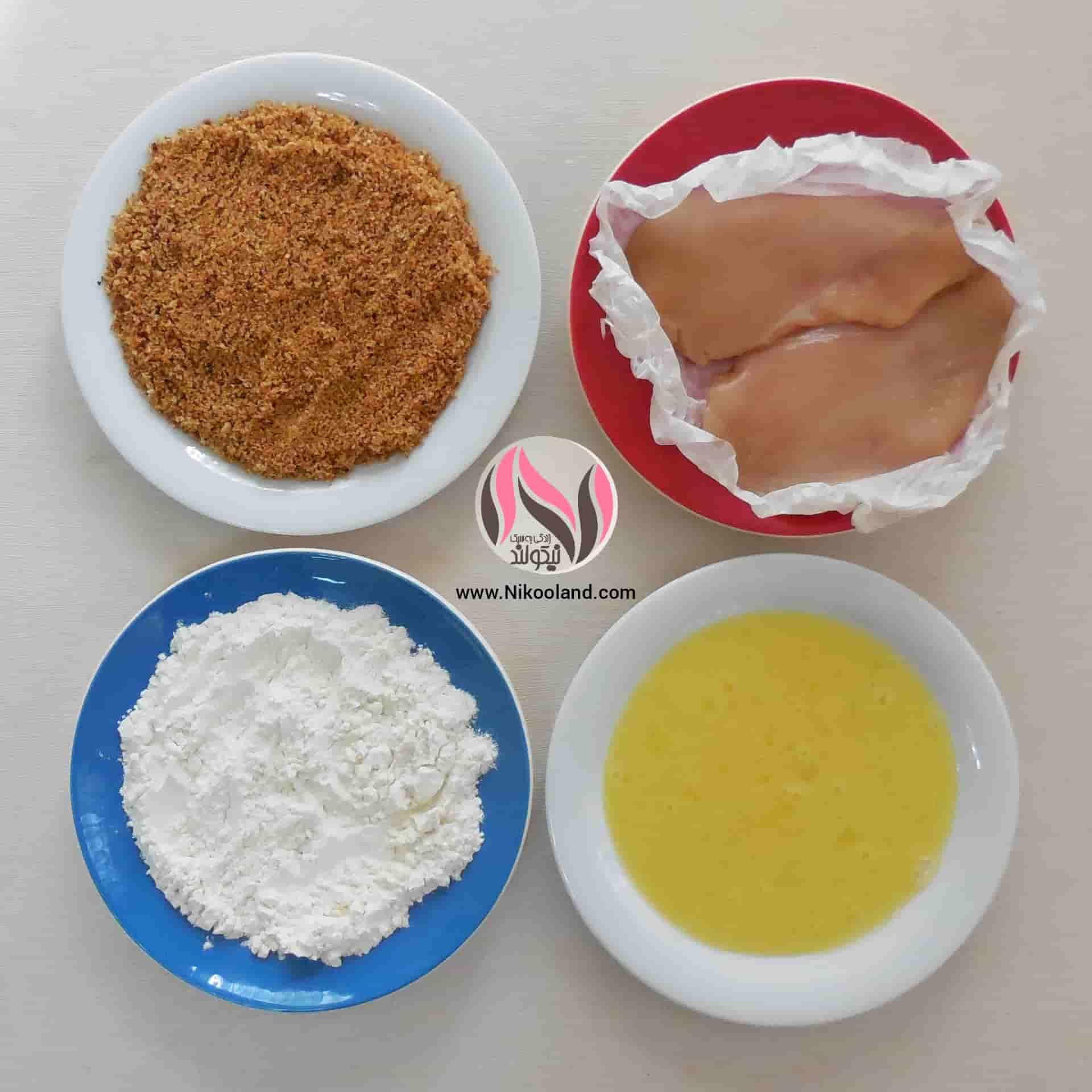 طرز تهیه فیله مرغ سوخاری