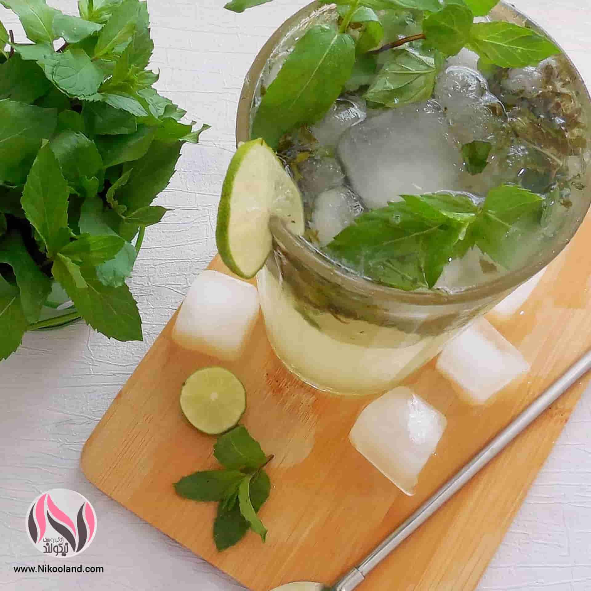 طرز تهیه نوشیدنی خنک تابستانی موهیتو